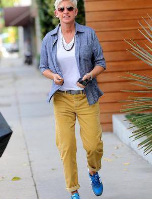 Ellen DeGeneres exits Salon Benjamin in