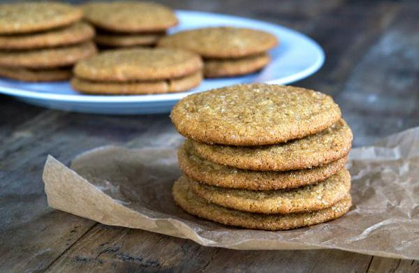 Gluten-free soft ginger cookies