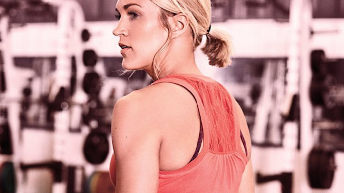 Carrie Underwood is the ultimate gym