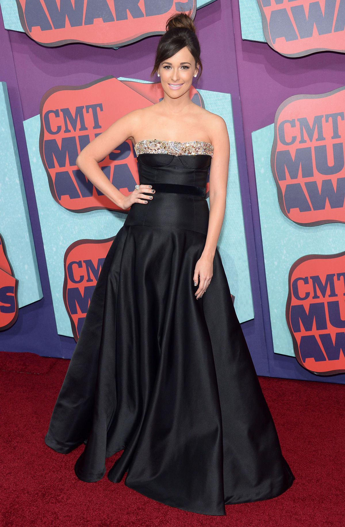 Kacey Musgravesat the the 2014 CMT Music Awards