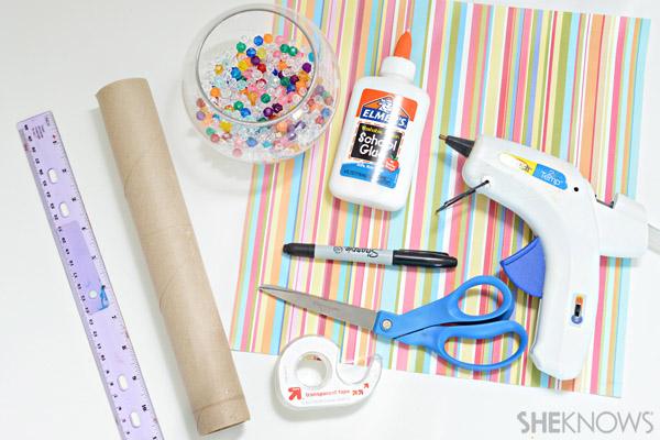 This Diy Kaleidoscope Craft For Kids Makes Upcycling Fun Sheknows