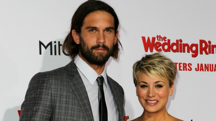 Kaley Cuoco-Sweeting squashes divorce rumors with