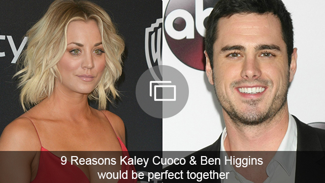 kaley cuoco and ben higgins slideshow