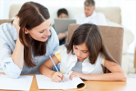 Homework 101 for moms