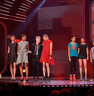 Kara Laricks' red dress