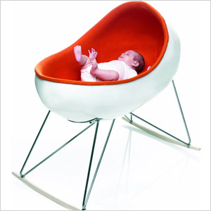 Kare Frandsen cradle - Kate Middleton Royal Baby Gear