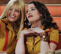 Kat Dennings and Beth Behrs are loyal friends