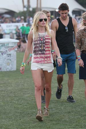 Kate Bostworth at Coachella 2011 Day 2