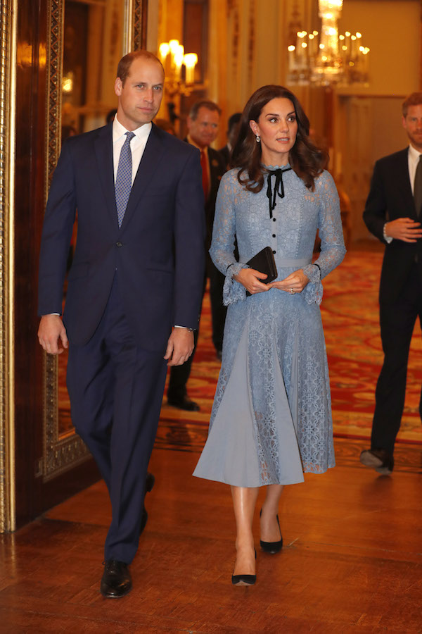 Kate Middleton steps out for first time since pregnancy announcement