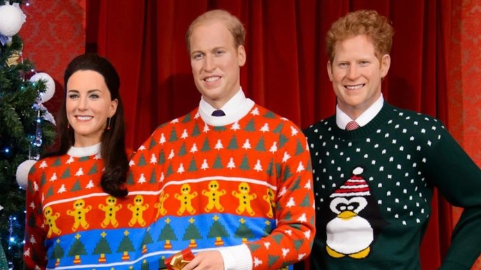 The royals get into the Christmas