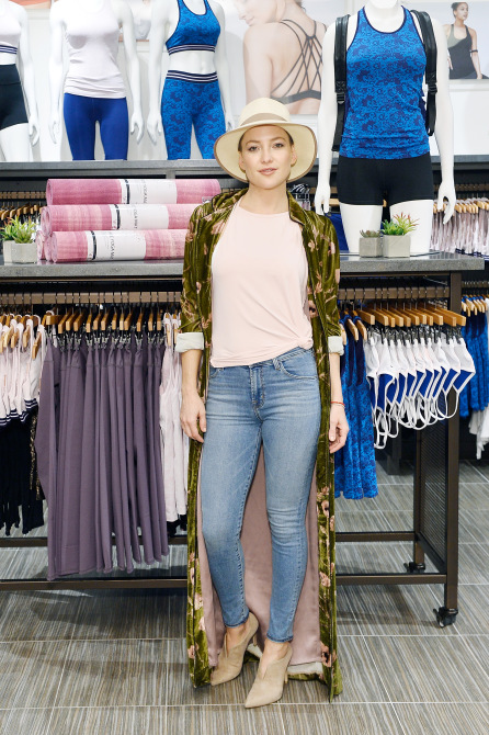 Kate Hudson Breast Cancer Awareness Collection: New Fabletics collection