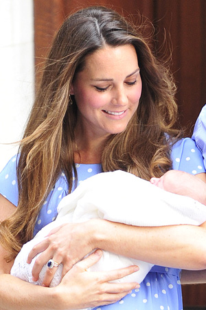 Kate Middleton and baby George