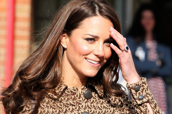 Kate Middleton's dog is named Lupo