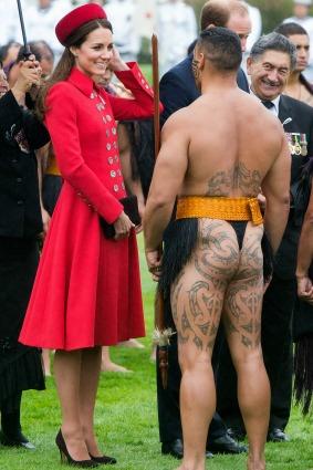 Kate Middleton Maori
