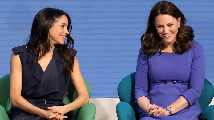 Meghan Markle and Catherine, Duchess of