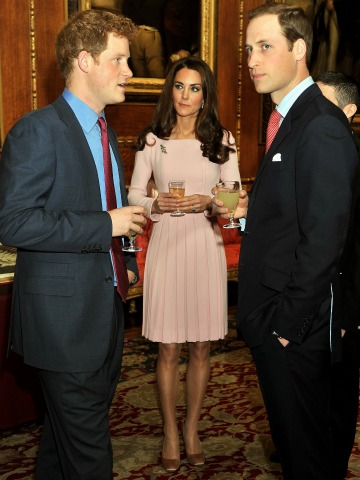 Kate Middleton - Prince William and Prince Henry