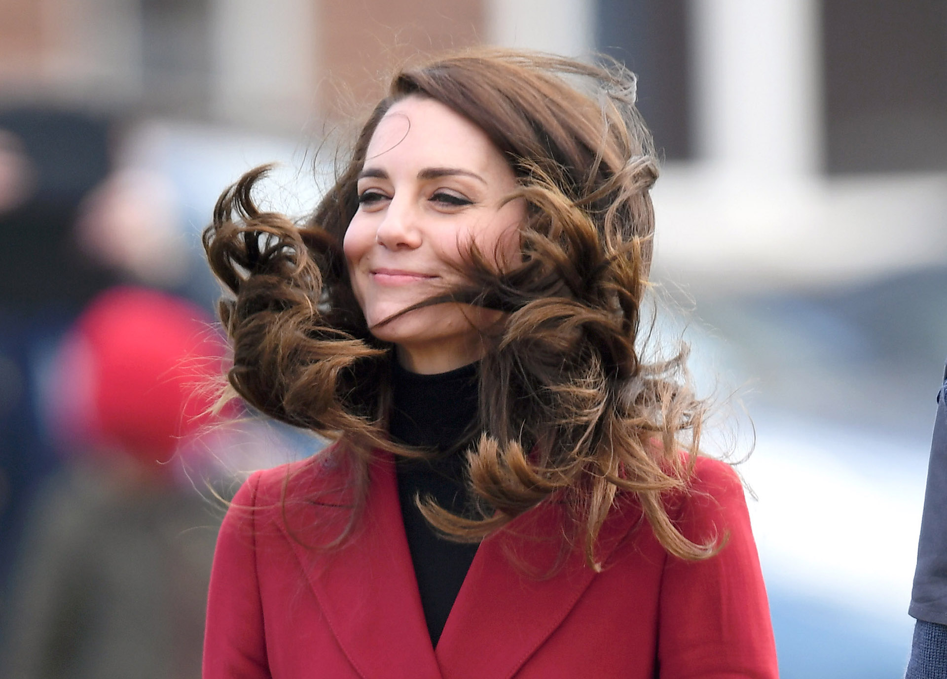 Kate Middleton Valentine's Day at Royal Air Force