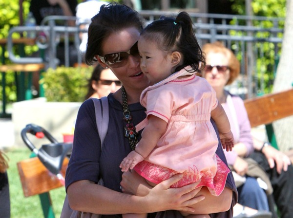 Katherine Heigl and adopted daughter Naleigh
