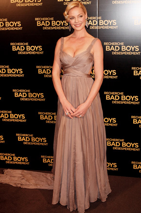 Katherine Heigle at French premiere of One of the Money