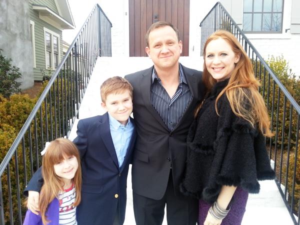 Katherine Stone and family