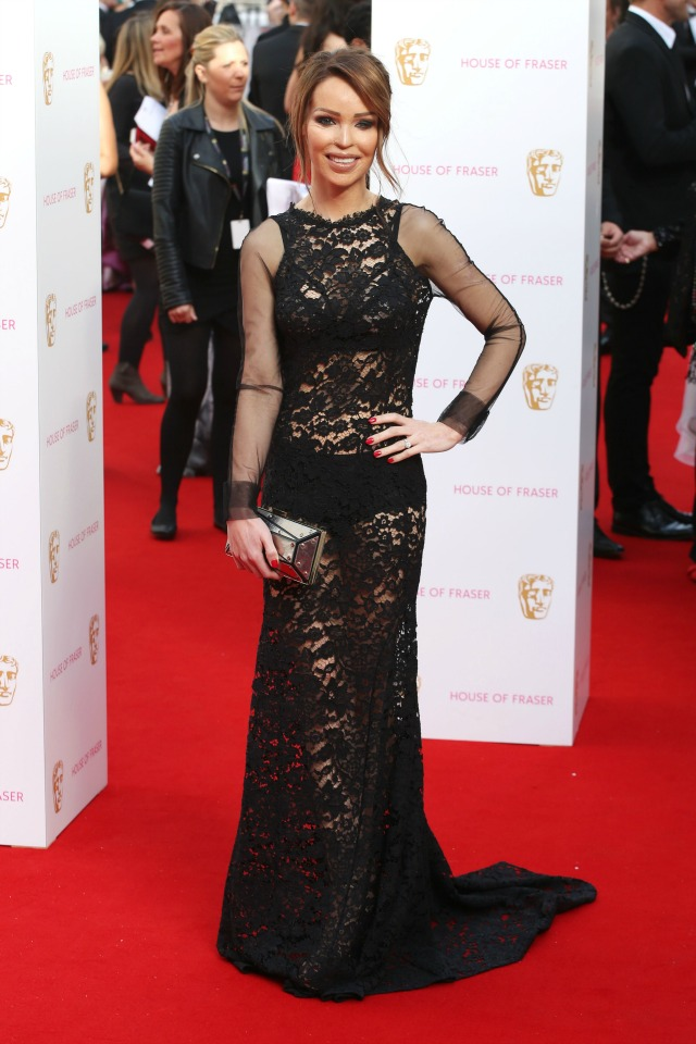 Katie Piper at the TV BAFTAS 2015
