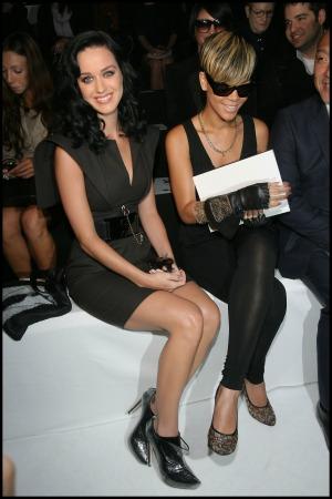 Katy Perry and Rihanna