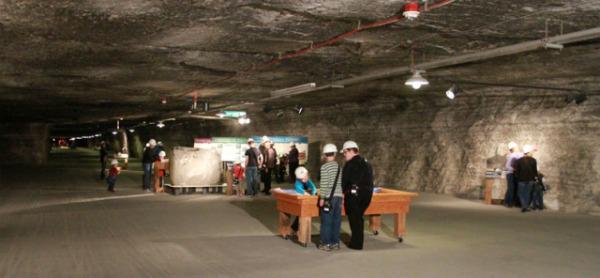 Kansas Underground Salt Museum in Hutchinson