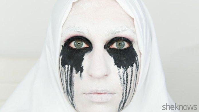 American Horror Story Halloween makeup is