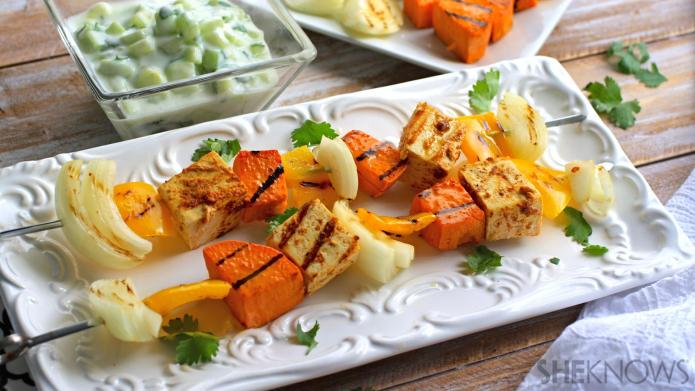 Meatless Monday: Grilled tandoori tofu with
