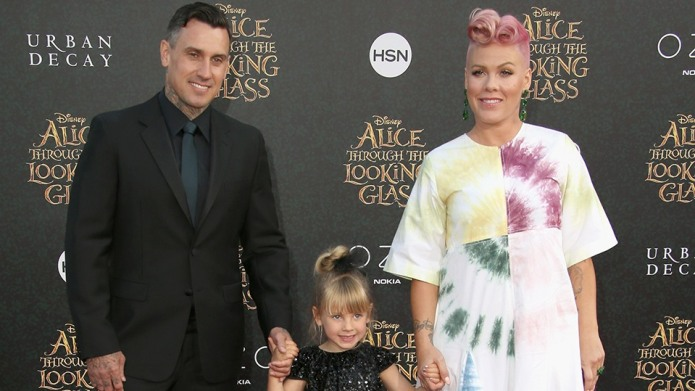 Pink's daughter is mighty jealous of