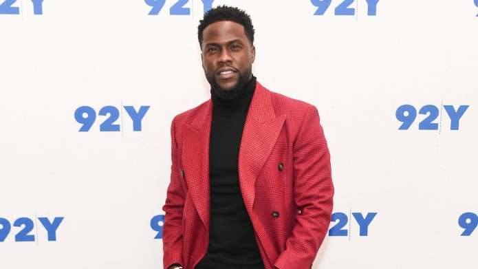 Kevin Hart poses during 'The Upside'