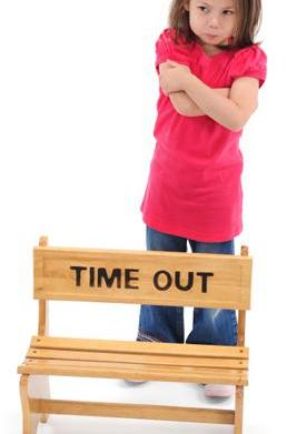Disciplining your child through time-outs