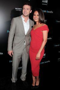 Mila Kunis and Justin Timberlake find