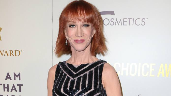 Kathy Griffin Holds Press Conference to