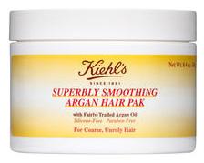 Kiehl's Superbly Smoothing Argan Hair Pak, $25