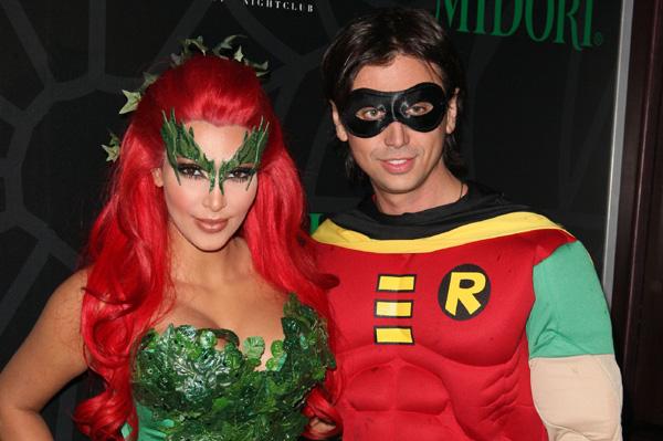 Kim Kardashian Halloween 2011