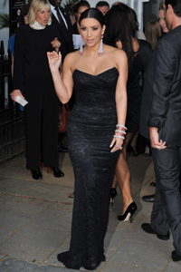 Kim Kardashian at Glamour Awards