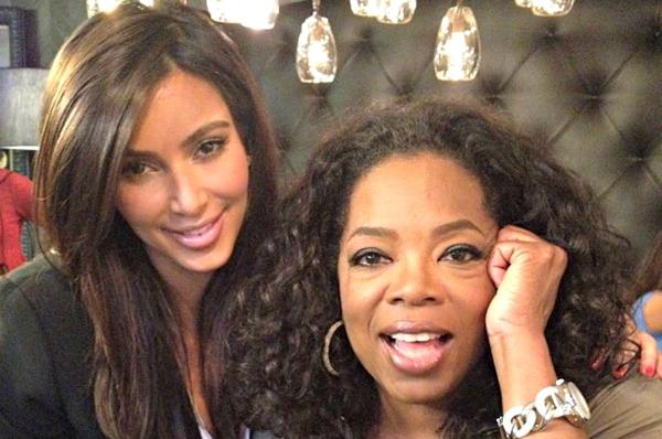 Kim Kardashian, Oprah Winfrey