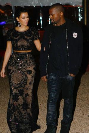Kim Kardashian shacking up with Kanye West and hates Indian food