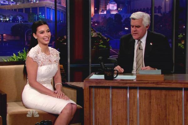 Kim Kardashian Jay Leno
