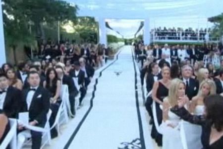 Kim Kardashian Lavish Wedding Pics The Dress The Guests And More