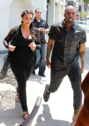 Kim Kardashian paparazzi