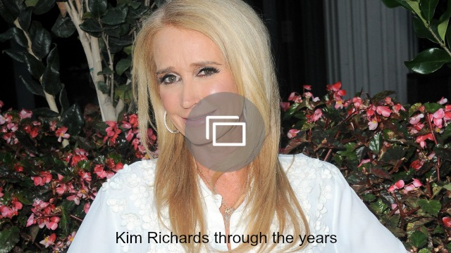 kim richards through the years slideshow