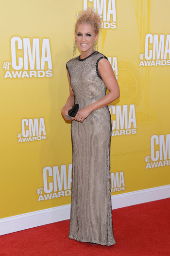 Kimberly Schlapman - Worst Dressed - 2012 CMA Awards