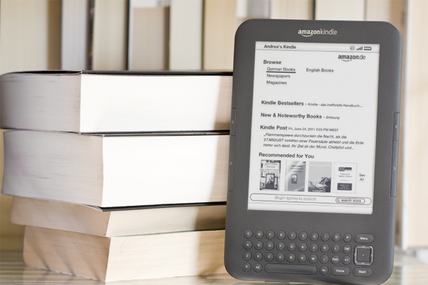 Kindle with textbooks