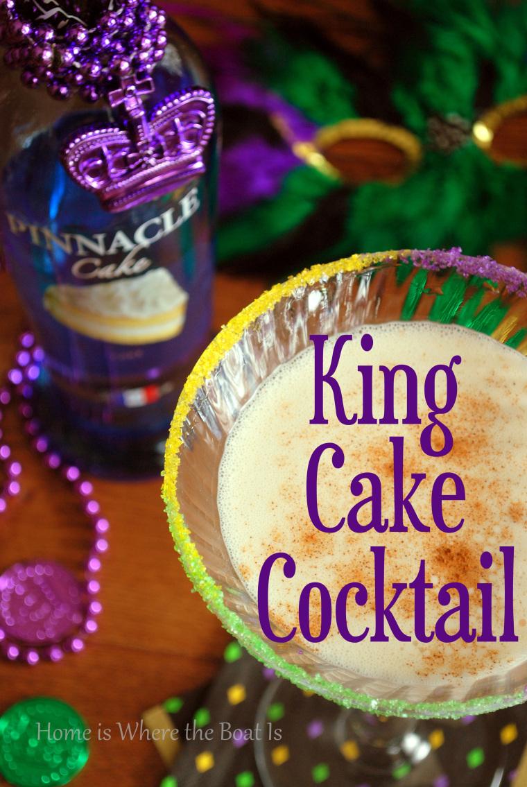 king cake martini