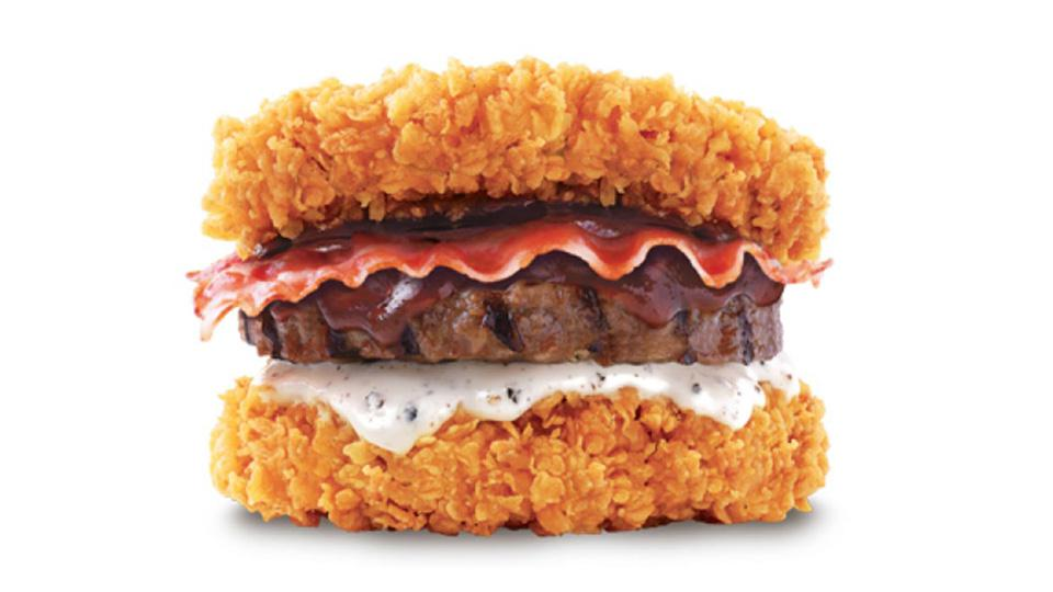 Kfcs New Zinger Double Down King Is A Ridiculous Calorie Monster