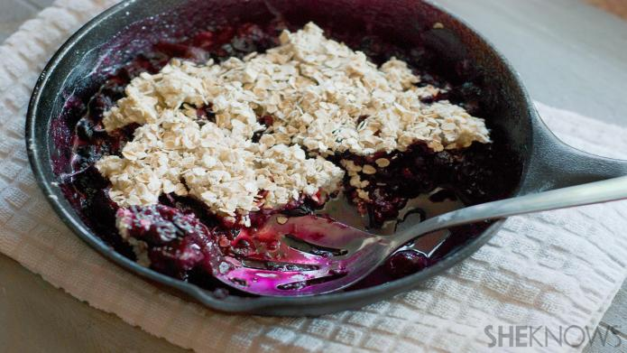 Gluten-free berry cobbler you can make