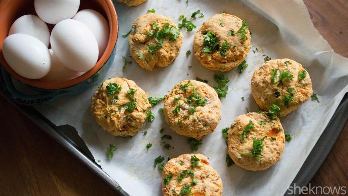 Sweet potato scones put a savory