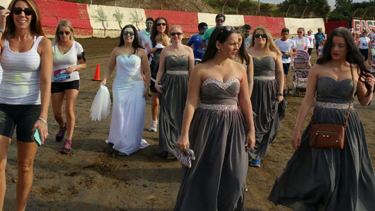 Jilted bride-to-be ruins her wedding dress